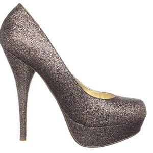 🔥Steve Madden🔥 Caryssag multicolor glitter heels